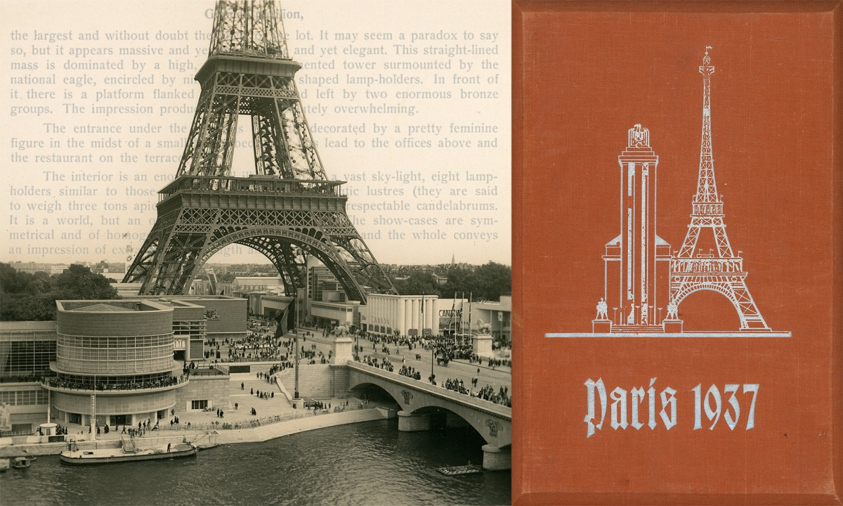 Raumbild Paris 1937: Introduction, ten images, and English text