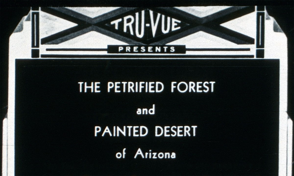 Petrified Forest and Painted Desert: Yes, you can digitize Tru Vue.